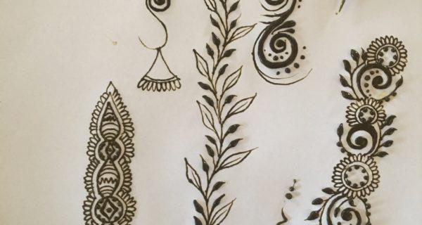2018 Henna Practice Challenge -Day 1